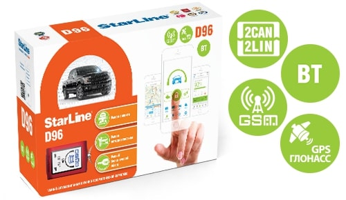 Автосигнализация StarLine D96 BT 2CAN+2LIN GSM-GPS